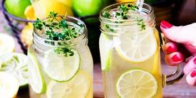 Cara Membuat Minuman Segar Sederhana Es Teh Manis Beras Kencur